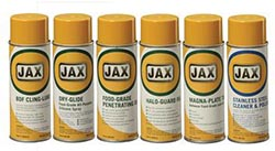 JAX Food Plant Maintenance, 6-Pack,NSF H1